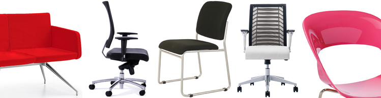 Office Seating, Operator Seating, Executive & Meeting Seating, Guest & Visitor Seating, Soft Seaing and Cafe Seating